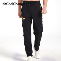 CoolChange Spring&Winter Outdoor Sports Cycling Ciclismo Bicycle Artificial velvet Pants Bike Reflective Pants