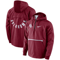 Men's Nike Crimson Oklahoma Sooners Packable Woven Jacket