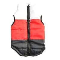 Hot Pet Cat Dog Winter Clothes Soft Padded Vest Harness Puppy Small Dog Coat Clothes Ropa Para Perros Free Shipping