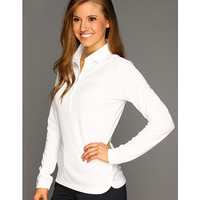 Nike Golf Nike Victory L/S Polo White/White - Zappos.com Free Shipping BOTH Ways