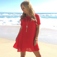 My Heart Is Yours Dress In Red