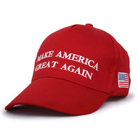 Make America Great Again Donald Trump Hat Cap Republican 2016 US Trump For President USA Hat