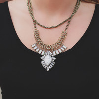 Marble Marvel Necklace