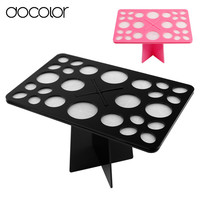 Docolor makeup brushes holder organizer Stand Tree Dry Brush Hold Brushes Accessories Comestic Brushes Aside Hang Tools