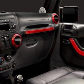 Interior Trim Kit-Cosmos Blue | Jeep Wrangler 2-Door Parts | 82212938 | My Jeep Accessories