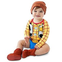Woody Disney Cuddly Bodysuit Set for Baby - Personalizable | Disney Store