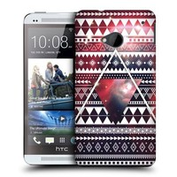 Head Case Designs Aztec Triangle Nebula Tribal Patterns Protective Snap-on Hard Back Case Cover for HTC One