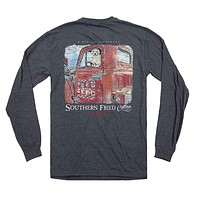 Working Like a Dog Long Sleeve Tee by Southern Fried Cotton