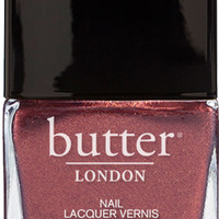 Shag Nail Lacquer : Metallic Burgandy Nail Polish : butter LONDON