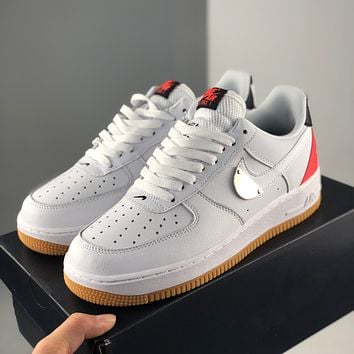 Nike Air Force 1 Trendy low-top sneakers classic casual sports sneakers for men and women-5