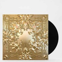 Jay Z & Kanye West - Watch The Throne 2XLP+Poster