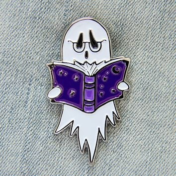 Reading Ghost Enamel Pin