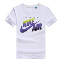Nike men's cotton short - sleeved T-shirt, round neck, slim and large size T-shirt, loose half - sleeved blouse