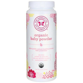 The Honest Company Organic Baby Powder  4 Oz
