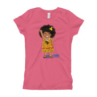 """Little Black Girl Magic"" Girls T-Shirt"