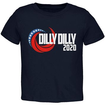 Presidential Election 2020 Dilly Dilly Swoosh Funny Toddler T Shirt