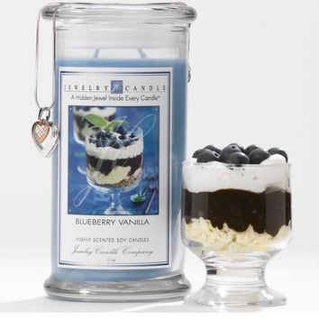 Blueberry Vanilla Ring Candle