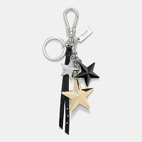 MULTImetal stars bag charm