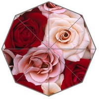 Beautiful Roses Custom Umbrella Fashion Design Umbrella For Man And Women High Quality