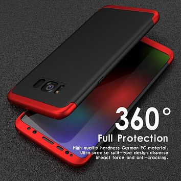 Case For Samsung Galaxy s10 plus Note 8 S7 Edge Note8 s10e 360 Bling Mirror Full Cover Coque For Samsung Galaxy S9 S8 Plus Case