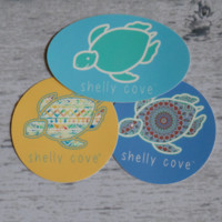 Shelly Cove Sticker Pack