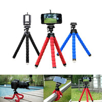 Hot Sale Car Phone Holder Flexible Octopus Tripod Bracket Selfie Stand Mount Monopod Styling Accessories For Mobile Phone Camera