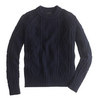 J.Crew Womens Cotton Cable Sweater