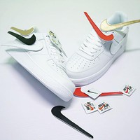 "Nike Air Force 1 Sneaker ""Triple White"" 312532-116"