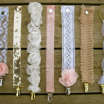 Vintage Pacifier Clips