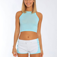 Miami Style® - Sporty Dual Color Shorts