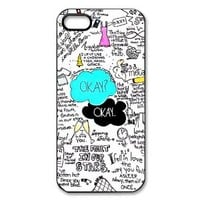 Paint The Fault In Our Stars Apple Iphone 5S/5 Case Cover Anime Comic Cartoon Hard Plastic