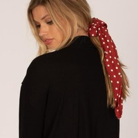 Women's Amuse Society Up and Away Scrunchie Scarf