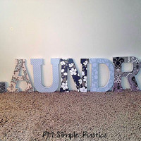 Laundry sign, Decorative Wall Decor, Housewares, Home Decor, Wooden Letters,