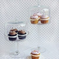 Shop Sweet Lulu - Glass Dessert Stands with Dome