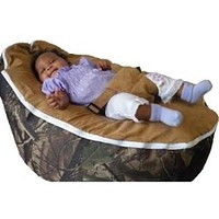 Babybooper Beanbag Soft Baby Cozy Baby Sitting Chair Nursery Pillow Safe (Booper Hunting Out Door)
