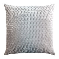 Dots Velvet Robin's Egg Pillows by Kevin O'Brien Studio