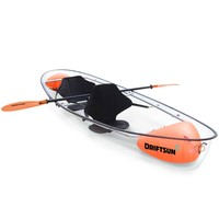 2 Person Crystal Clear Hull Transparent Kayak