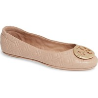 Tory Burch Quilted Minnie Flat (Women) | Nordstrom