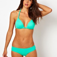 ASOS   ASOS Mix and Match Moulded T Back Triangle Bikini Top at ASOS