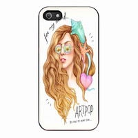 artpop lady gaga 2 for Iphone 5 Case *NP*