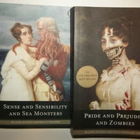 Pride and Prejudice and Zombies/ Sense and Sensibility and Sea Monsters Book Bundle