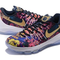 2017 nike zoom kd 8 kevin durant flowers men s basketball shoes