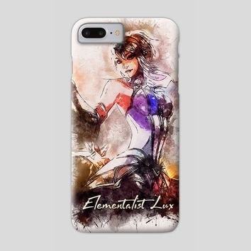 A Tribute to Elementalist LUX, a phone case by Dusan Naumovski