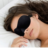 1PCS Travel Sleeping Comfort Rest 3D Eye Mask, Shade Sponge Cover Blinder Blindfold = 1669445892