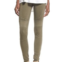 BP. Stretch Denim Moto Leggings | Nordstrom