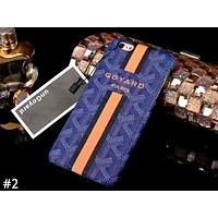 GOYARD Tide brand anti-fall half-pack hard shell iPhonex mobile phone case cover #2