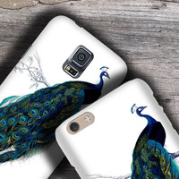 Peacock victorian design iPhone 6 Case, iPhone 5S Case, iPhone 5C Cover, iPhone 4 Case,Vintage, iPhone 6 Plus Case, Samsung Galaxy Note Boho