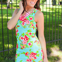 Seaside Bloom Dress