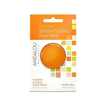 Andalou Naturals Mask Pod, Instant Brightening - Pack of 6