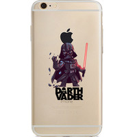 """Star Wars Darth Vader Jelly Clear Case for Apple iPhone 6/6s PLUS (5.5"""")"""